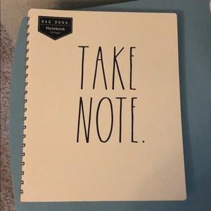 "Rae Dunn ""Take Note"" Notebook"